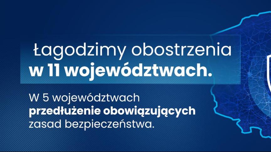 Od 26 kwietnia zostają złagodzone obostrzenia w województwie mazowieckiem