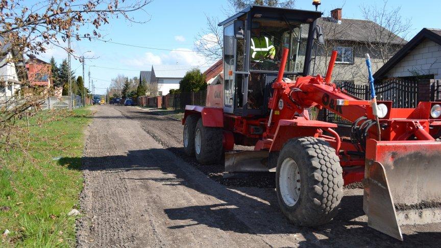 Bieżąca konserwacja dróg gruntowych