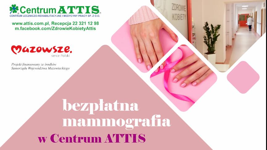 Badania mammograficznego oraz edukacji w zakresie samobadania piersi