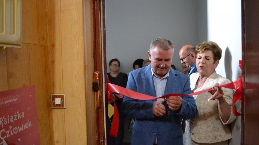 Filia Biblioteki Publicznej w Mokrej Wsi oficjalnie otwarta