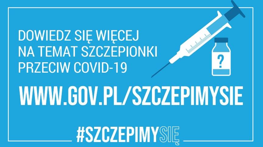 informacja o szczepieniach