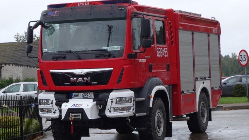 Zakup samochodu ratowniczo-gaśniczego oraz sprzętu ratowniczego dla Ochotniczej Straży Pożarnej w Chrzęsnem
